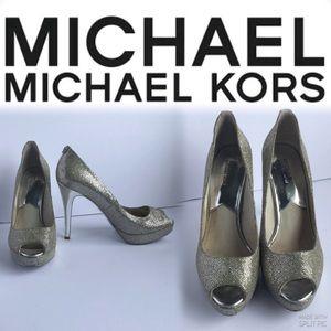 Michael Kors Open Toe Stiletto Heel Shoes